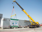KPO took part in the ceremony of departure of modular substations manufactured in Kazakhstan