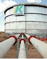 КПО запустила новый внутрипромысловый трубопровод