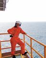 Женское лицо нефтянки