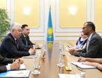 СІМ басшысы «ExxonMobil» компаниясының Қазақстандағы басқарушы директорымен кездесті <br> Глава МИД встретился с управляющим директором «ExxonMobil» в Казахстане
