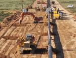 «Сарыарқа» газ құбырының 75%-ы тартылды<br> Построено уже 75% газопровода «Сарыарка»