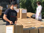 bizbirgemiz: Атырау облысына 40 оттегі концентраторы жеткізілді <br> #bizbirgemiz: 40 кислородных концентраторов доставлено в Атыраускую область