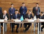 On the signing of the Memorandum of Cooperation on Road Safety between the Akimat of the West Kazakhstan Oblast, Shell Kazakhstan, Agip Karachaganak B.V. and Eastern Alliance for Safe and Sustainable Transport (EASST)